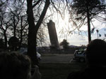 Bexley Water Tower blown up