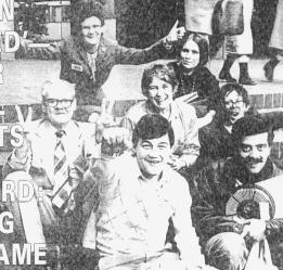 The Glasgow Link team in 1985