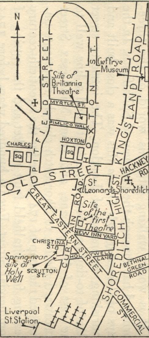 OLD ORDNANCE SURVEY MAP HACKNEY 1870 HOMERTON MARE STREET WHITE POST LANE