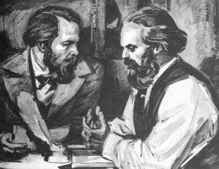 Engels and Marx