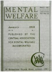 Mental Health History Timeline