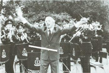 Jimmy Savile conducts the